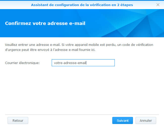 sécuriser un NAS Synology