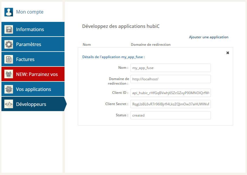 HubicFuse - hubiC en ligne de commande sur votre serveur