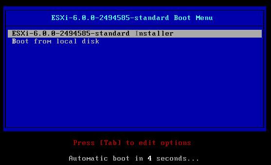 Migrer de ESXI 5.5 vers ESXi 6.0