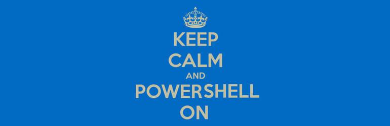 Exécuter un script PowerShell
