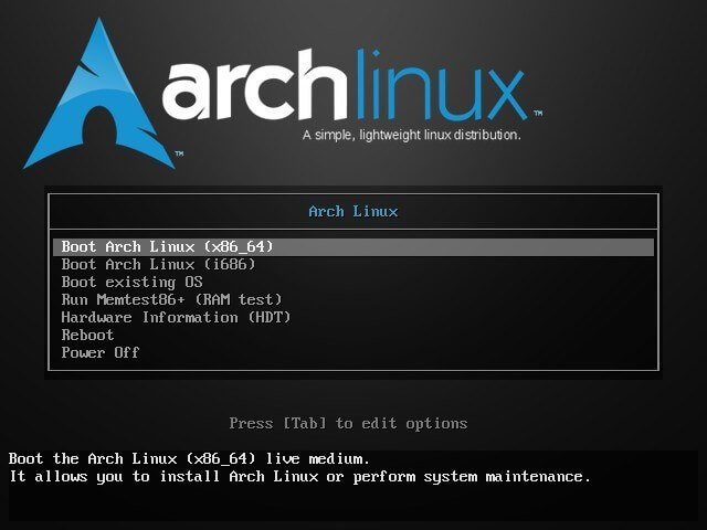 Installer ArchLinux