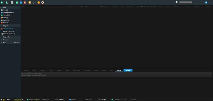 Thème Material Design ruTorrent