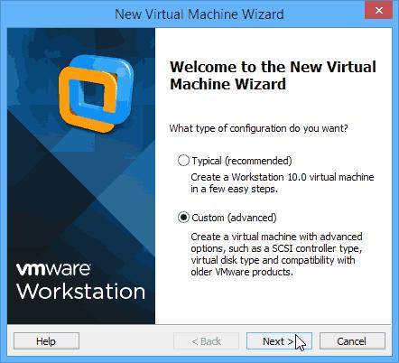 WMware - environnement de test - 02