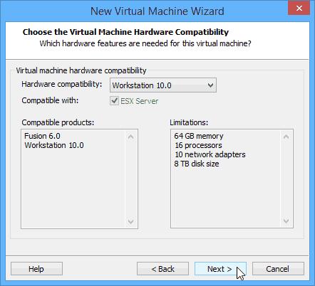 WMware - environnement de test - 03