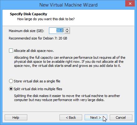 WMware - environnement de test - 15