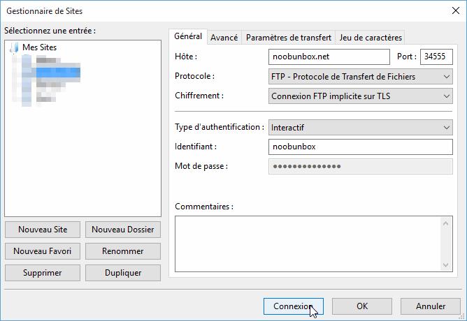Configurer et sécuriser un serveur FTP