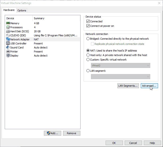 Trouver l'IP d'une machine virtuelle