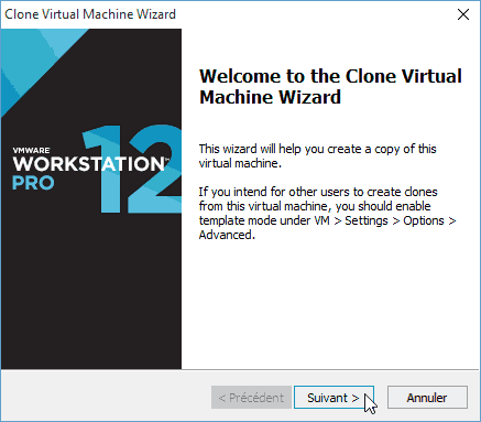VMware Workstation - Créer des templates de VM